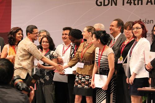 Winners of the Global Development Awards and Medals Competition 2012