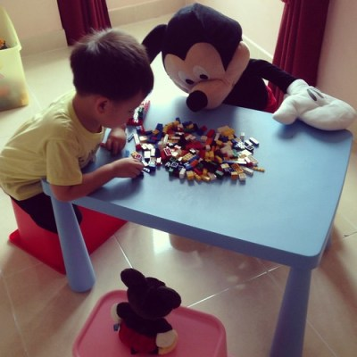 Lego with Mickey