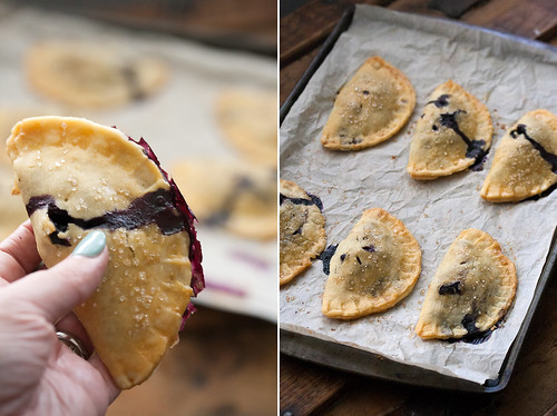 Blueberry Basil Hand Pies