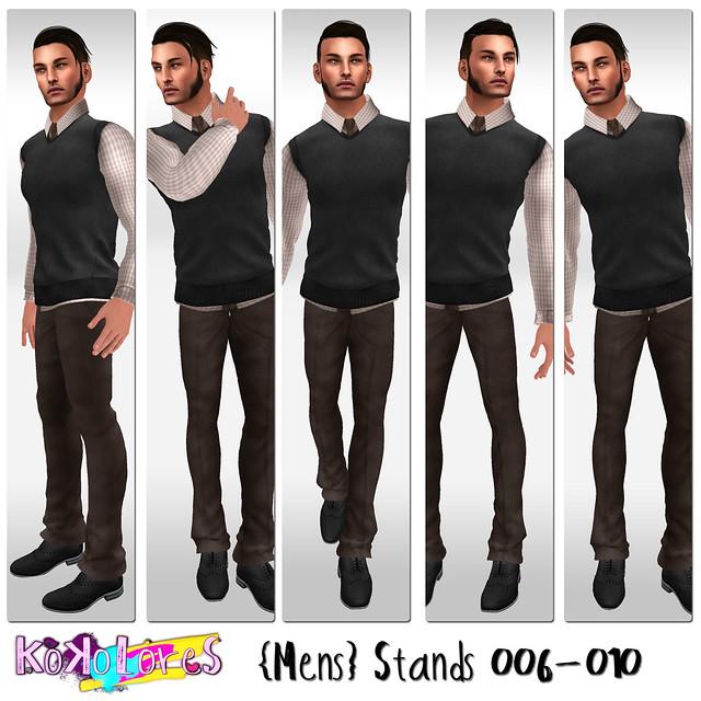 [KoKoLoReS]{Mens}Stands 006-010