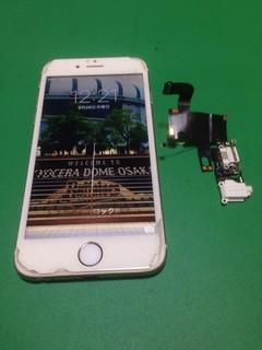 197_iPhone6のドックコネクター交換