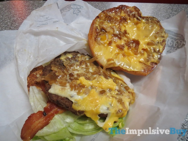 Hardee's and Carl's Jr.'s All-Natural Budweiser Beer Cheese Bacon Burger 2