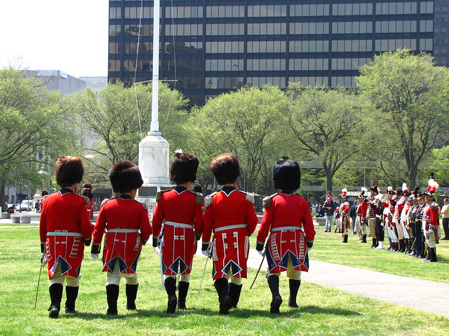 The Red Coats of 2nd Company Governor's Foot Guard