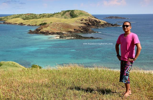 Pauly in Calaguas Island