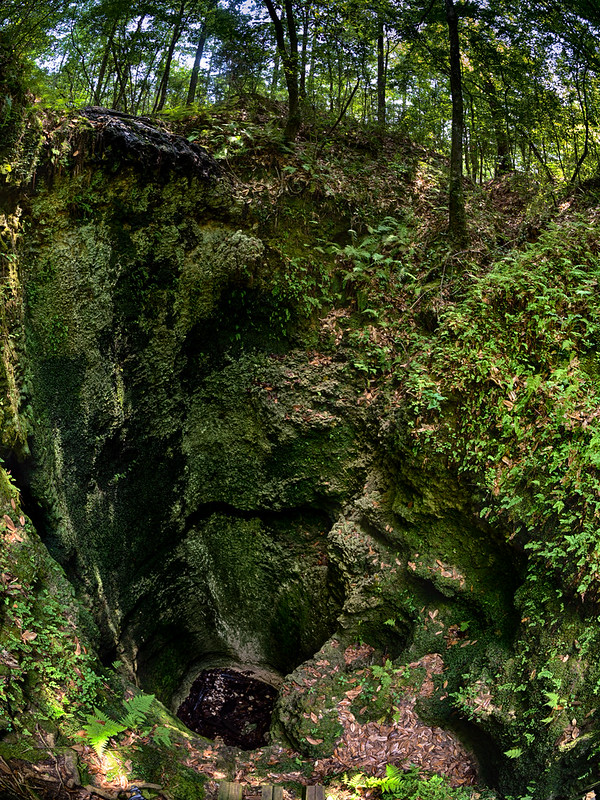Falling Waters State Park sinkhole