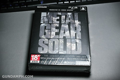 PS3 Metal Gear Legacy Collection Unboxing Review (2)