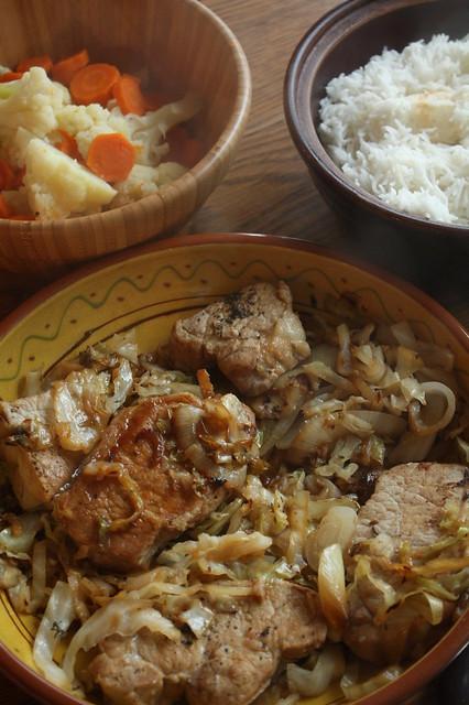 Somewhat Unseasonable Comfort Food/Garden Grub