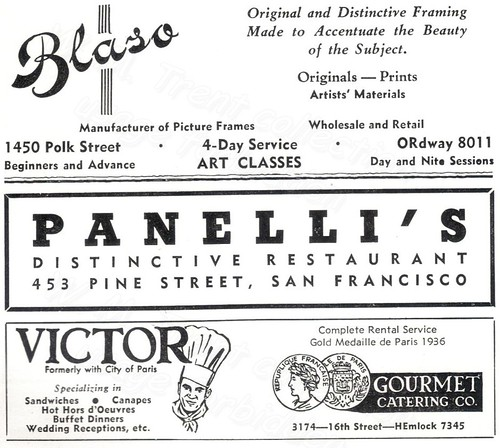 San Francisco advertisement: