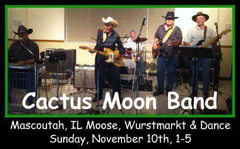 Cactus Moon Band 11-10-13