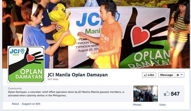 JCI MAnila Oplan Damayan