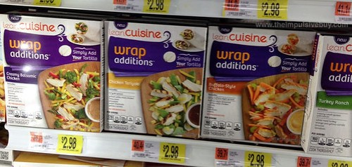 Lean Cuisine Wrap Additions