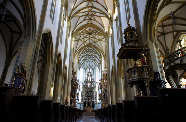 Augsburg, St. Ulrich's and St. Afra's interior