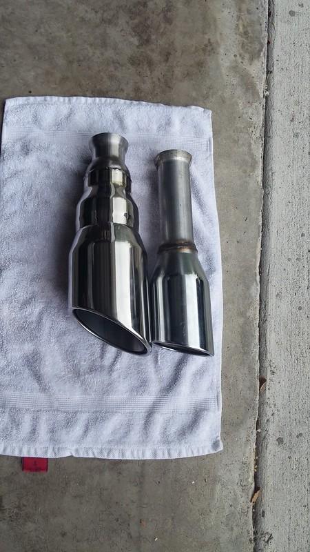 mufflex 5 exhaust tips ram 1500