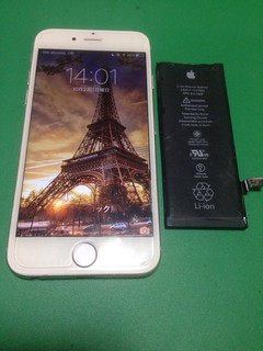 208_iPhone6のバッテリー交換