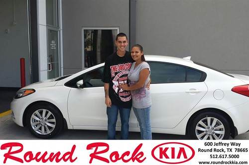 Thank you to Leah Cantu on your new 2014 #Kia #Forte from Roberto Nieto and everyone at Round Rock Kia! #NewCar! by RoundRockKia