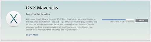 Updates OS X Mavericks