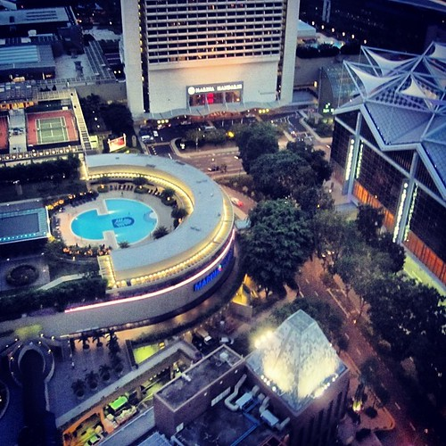 A view from the Conrad #singapore by @MySoDotCom