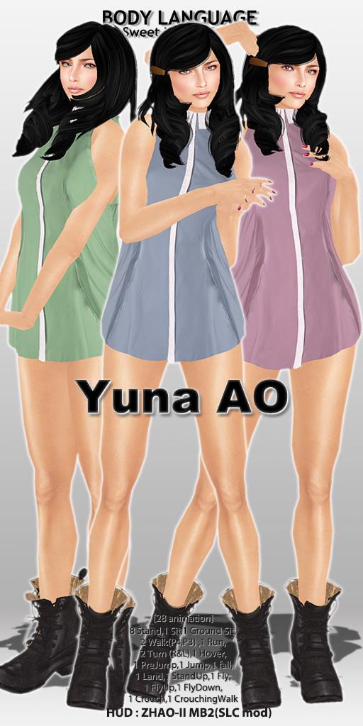 Yuna AO set