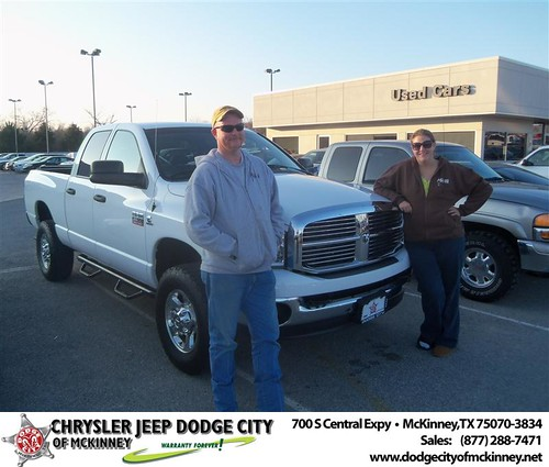 Happy Anniversary to Jessie E Harris Iii on your 2008 #Dodge #Ram25 from Don Mcdearmon  and everyone at Dodge City of McKinney! #Anniversary by Dodge City McKinney Texas