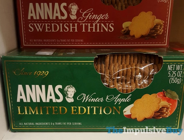 Annas Limited Edition Winter Apple Thins
