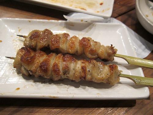 Grilled Chicken Skin