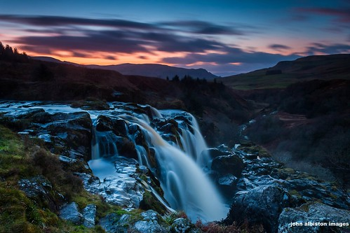 loup of fintry at gloaming
