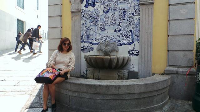 wishing well in Macau