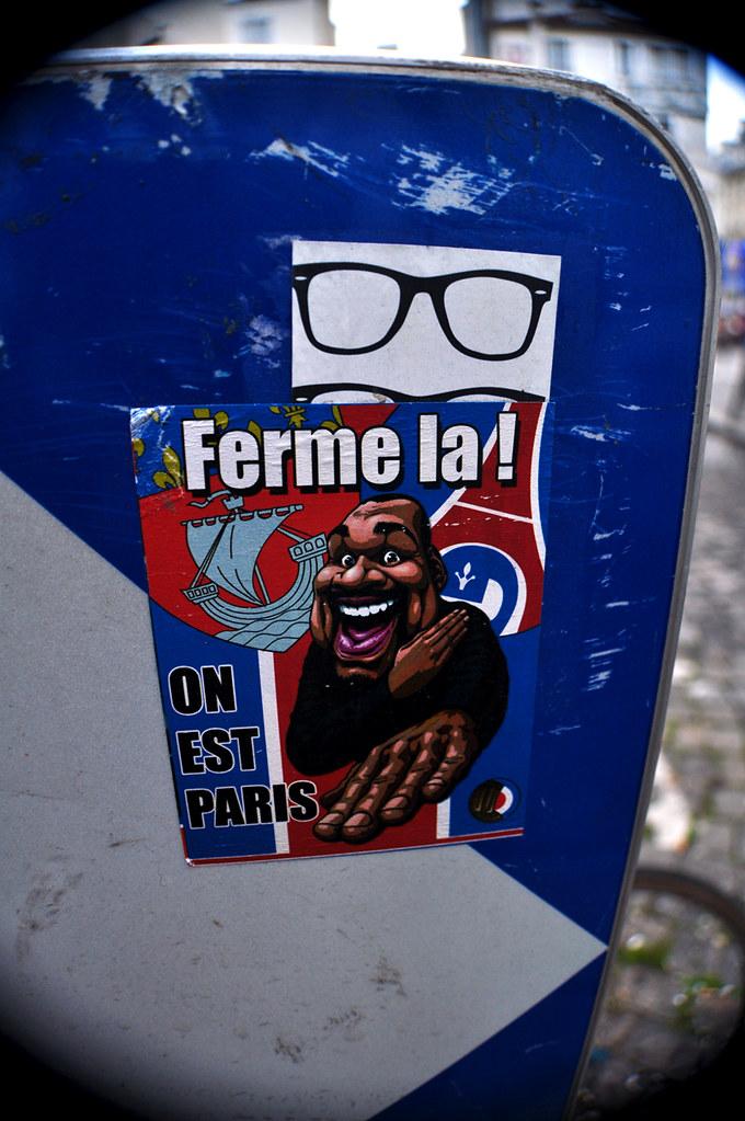 Ferme La ! ON EST PARIS