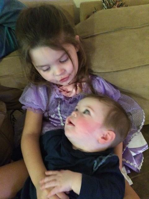 he loves her