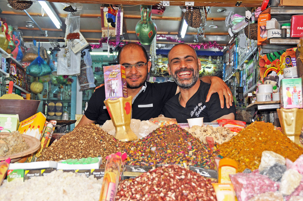 Imagen gratis de dos amigos tunecinos