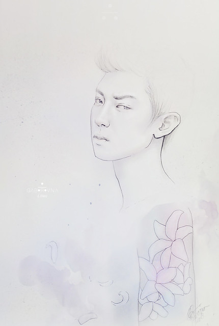 Lilies - Chanyeol fanart