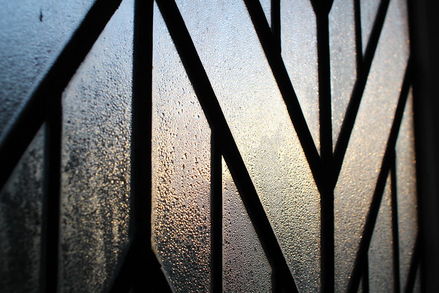 Tuesday: dawn through condensation
