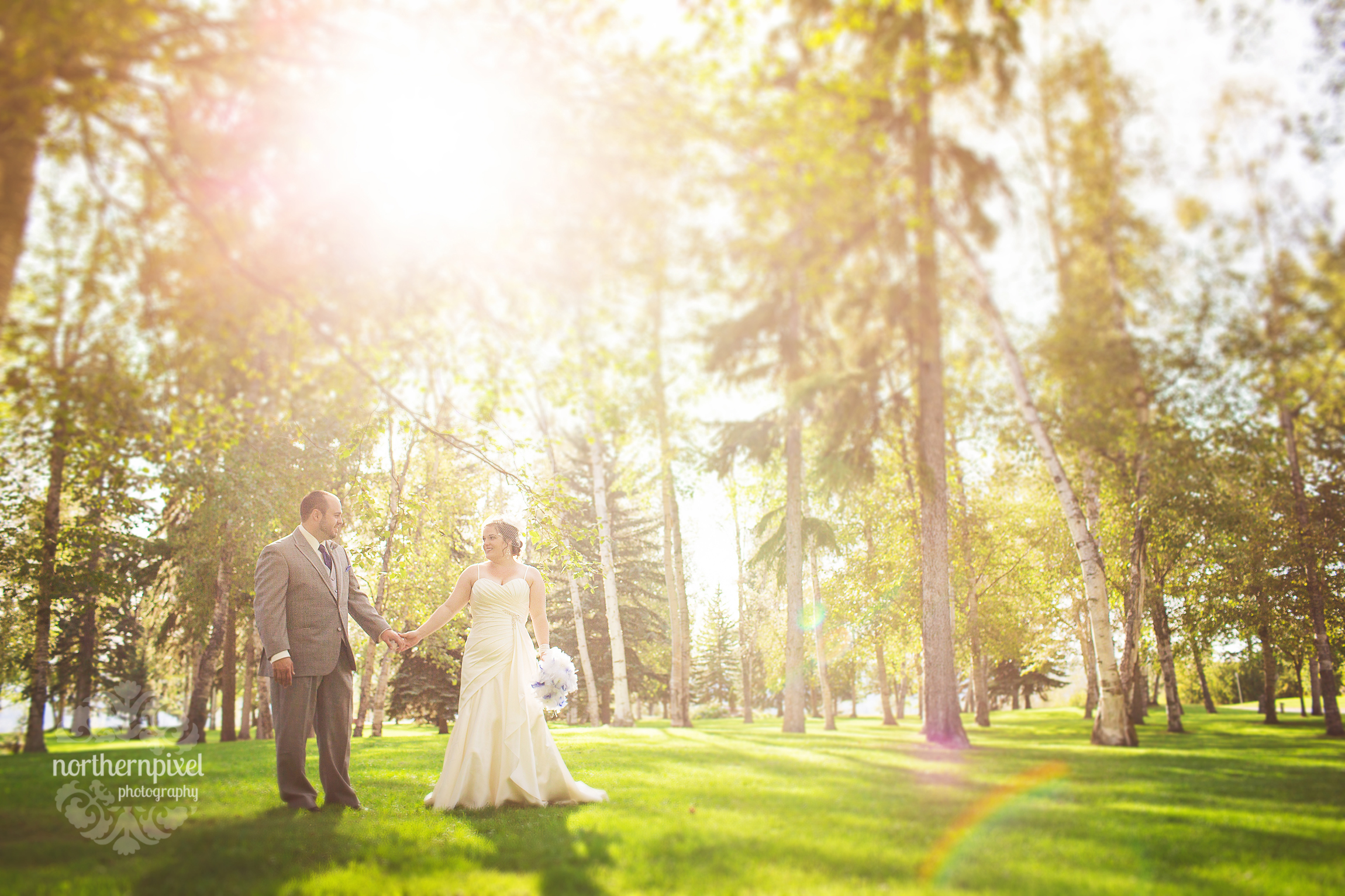 Connaught Hill Park Wedding Prince George BC