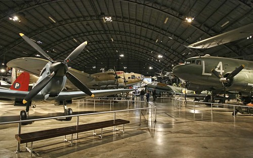 National Museum of the US Air Force, WWII gallery. Photo copyright Jen Baker/Liberty Images; all rights reserved.