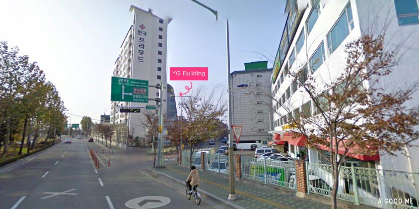 Direction to YG Building