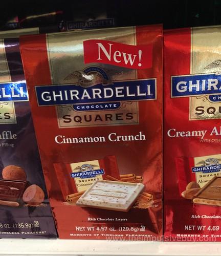 Ghirardelli Cinnamon Crunch Chocolate Squares