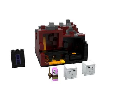 LEGO Minecraft The Nether