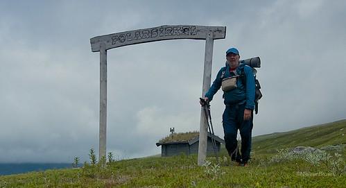 Crossing the Polar (Arctic) circle