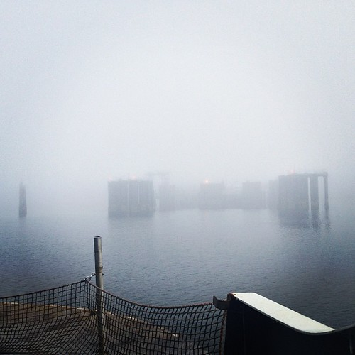 Morning Fog - Port Angeles WA by @MySoDotCom