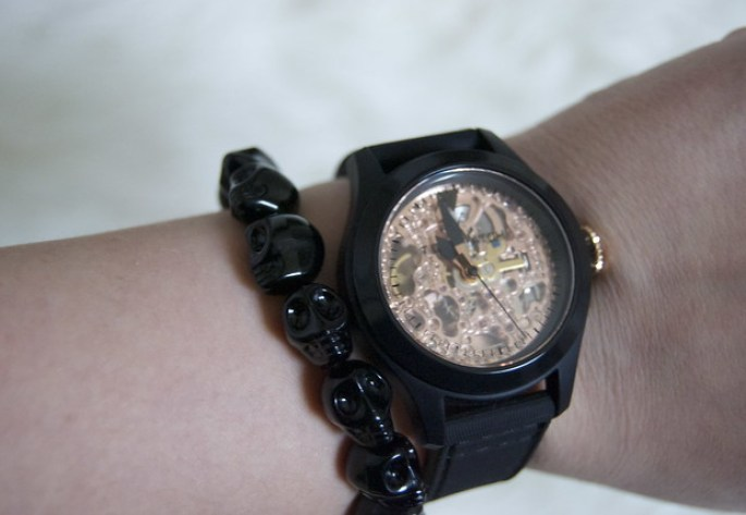 toywatch skeleton watch