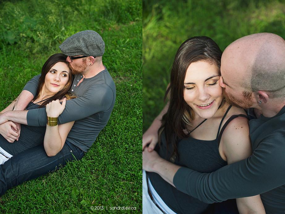 Heather + Jason | Kensington Market Toronto Engagement