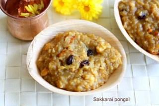 Sakkarai- pongal