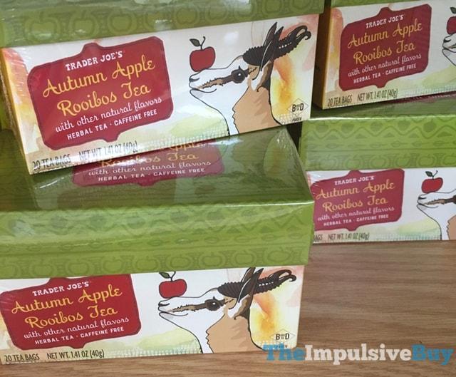 Trader Joe's Autumn Apple Rooibos Tea