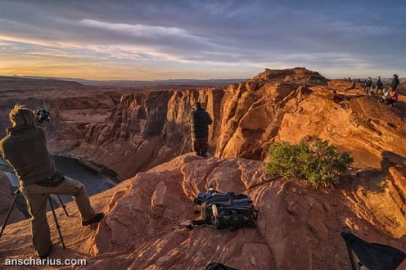 Shooting Horse Shoe Bend - Nikon D300 & Tokina AT-X Pro 4/12-24mm