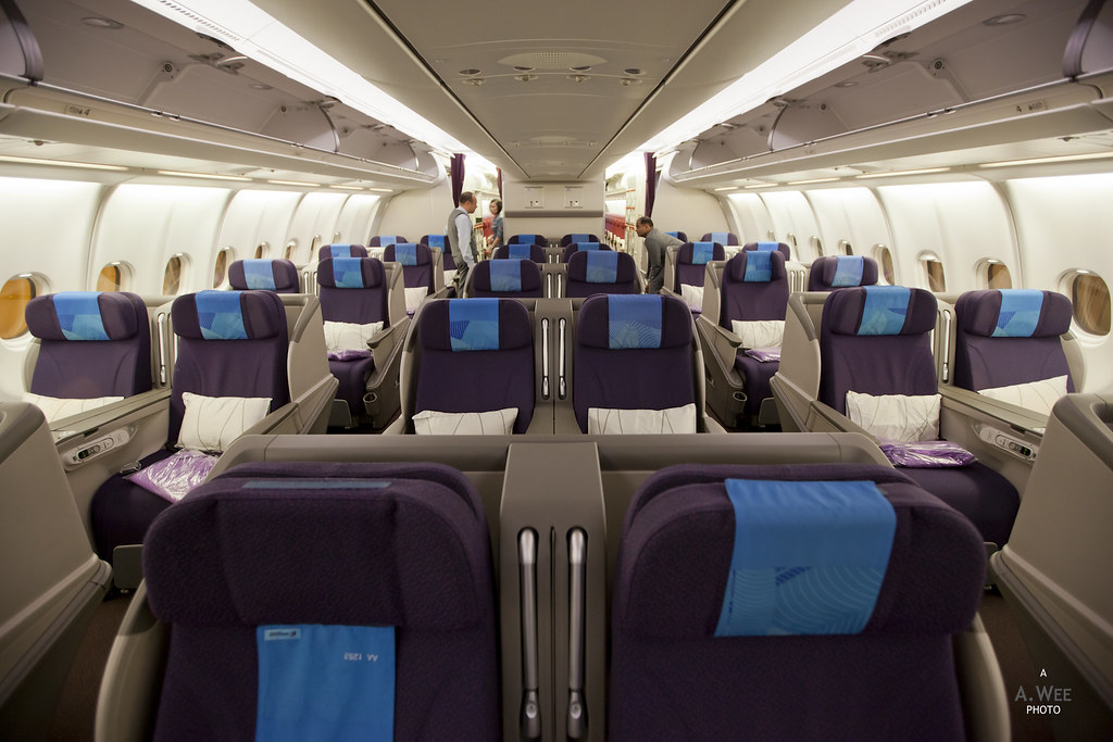 MH Business Class on the A330