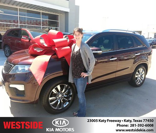 Happy Birthday to Ashley Brown from William Hadnott and everyone at Westside Kia! #BDay by Westside KIA