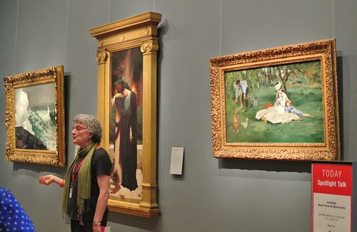Visiting masterpieces:  Homer, Leighton, Manet