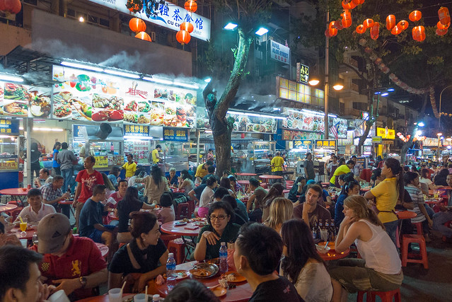 Chinese Night Market, Jalan Alor