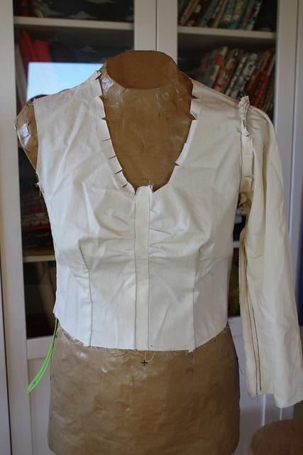 Sureau dress muslin #3