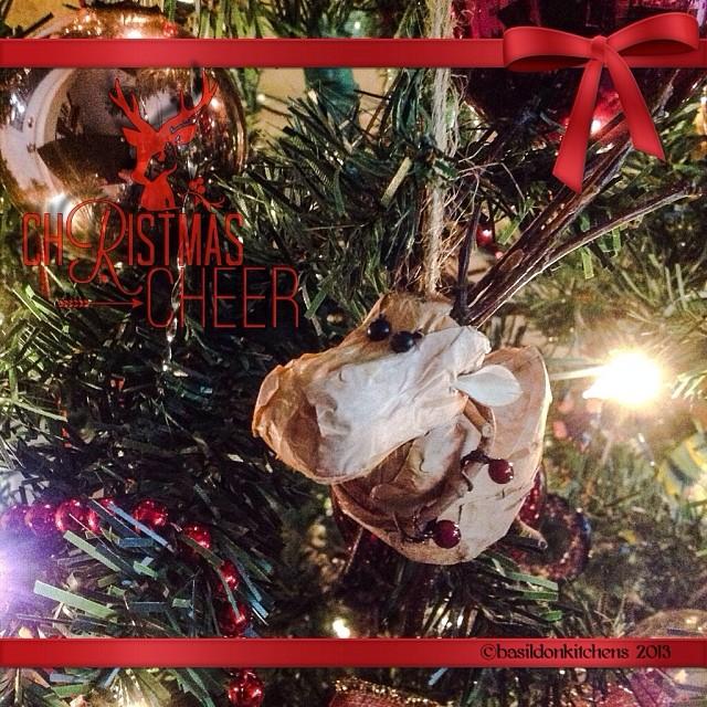 Dec 10 - 'r' is for ... {reindeer, of course!} #fmsphotoaday #reindeer #red #christmas #ornament #lightplay #rhonnadesigns